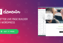 Elementor Pro – Drag & Drop Page Builder For WordPress
