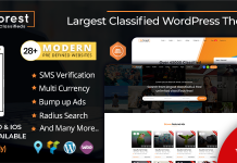 AdForest and Classified Ads WordPress theme