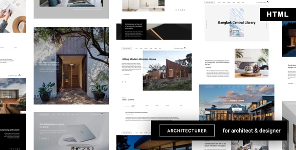 ArchMe is a beautiful Architecture HTML Template.