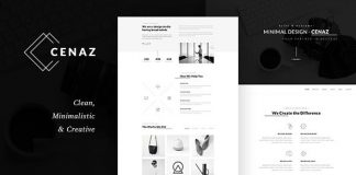 CEZAN is a Minimal and Modern and Unique and Multipurpose and WordPress Theme