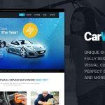 Car Wash and modern & responsive WordPress Theme.