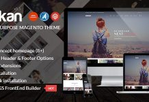 Dukan modern and Magento theme