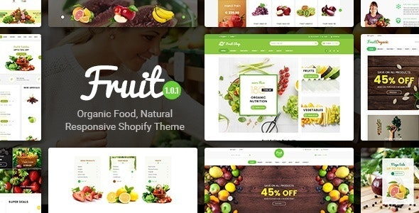 Fruit Shop is a Premium eCommerce