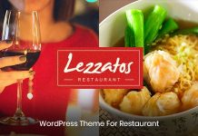 Lezzatos -Best Restaurant WordPress Theme