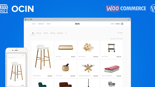 WooCommerce support and Fully Responsive and theme