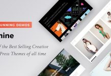 Oshine is a creative WordPress theme