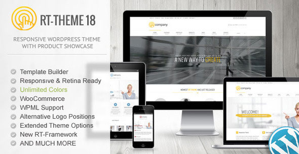 RT-Theme 18 is a premium WordPress theme