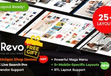 Revo and Multipurpose WooCommerce and WordPress Theme