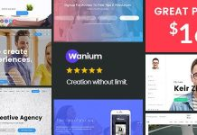 Wanium is an Elegant Multi-Concept Theme