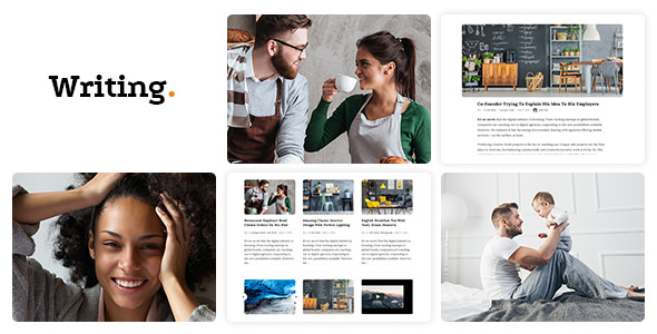 Writing Blog and Best Responsive and Personal Blog theme