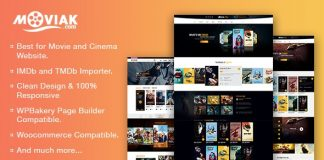 AmyMovie theme is responsive WordPress theme