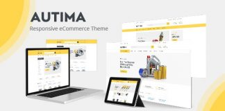 Autima theme is designed and created with classy design
