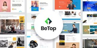 BeTop is a Powerful Coaching and Personal Trainer WordPress Theme