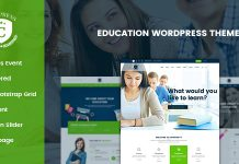 Campress is a Responsive Education and Courses WordPress theme