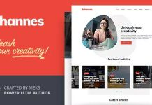 Johannes is a multi-concept personal blog