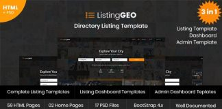 ListingGEO is a Modern and user-friendly