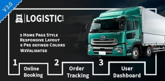 Logistic Pro is a HTML Template