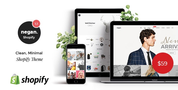 Negan is an extremely powerful Shopify theme