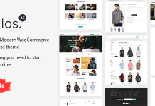Philos is a WooCommerce theme