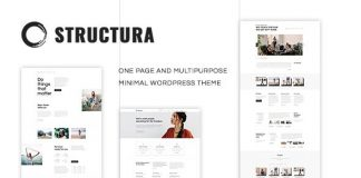 Minimal user-friendly minimal WordPress Theme.