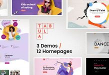 Tabula is a Multi-Purpose WordPress Theme
