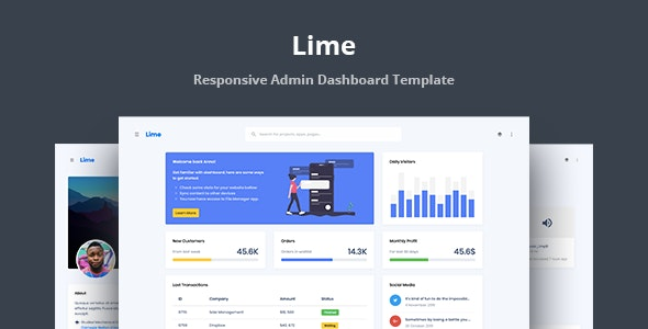 Lime is a premium Web Application