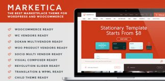 Marketica allows you to turn your store into a vendor marketplace.