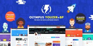 Olympus is the only tool needed for building a powerful social network