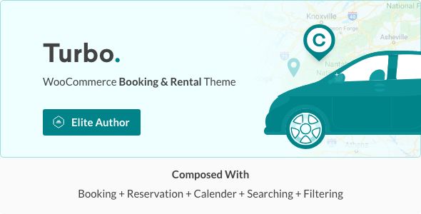 Turbo is a user-friendly car booking WordPress theme