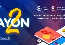 AYON is the Premium Prestashop theme