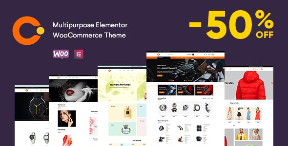 Cerato is a unique and modern looking eCommerce Theme