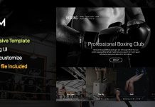 GYM is a fully responsive template