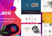 Jico is a furniture Prestashop theme