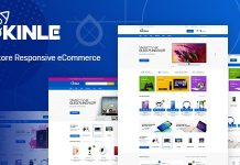 Kinle is a simple and elegant technology Prestashop theme.