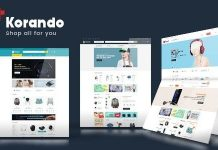 korando is a responsive friendly WordPress theme