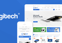 Digitech is a flexible and attractive technology WordPress theme.