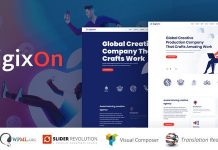 Digixon is a powerful multi-purpose WordPress theme