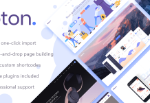 Foton Multi-concept Software Landing Theme