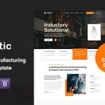 Industic is a stunning & professional and flexible Factory & Industry Business Html5 Template