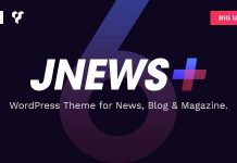 JNews is a WordPress theme