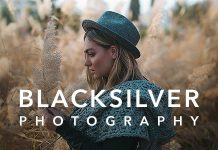 Blacksilver photography WordPress theme
