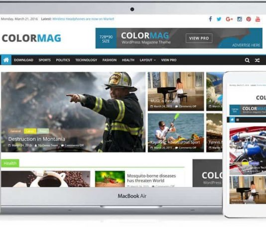 ColorMag is most popular theme WordPress themes