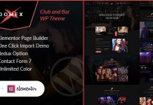 Domex is excellent Night Club WordPress Theme.