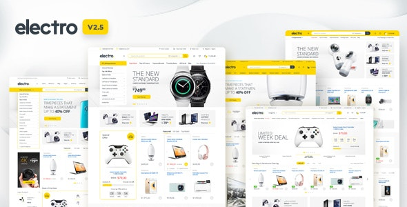 Electro is a robust and flexible WordPress theme