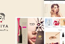Iniya is a Beauty Shop Cosmetic WordPress Theme.