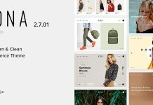 Kona is a Modern & Clean eCommerce WordPress Theme