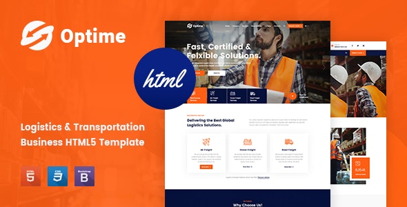Optime is a stunning & professional and flexible