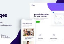 Piqes is a stylish & responsive Business WordPress Theme