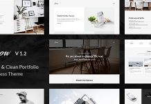 Snow is Minimal & Clean WordPress Portfolio Theme.